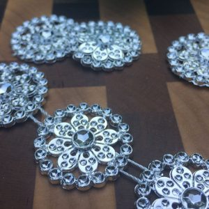 Silver Medallion Garland