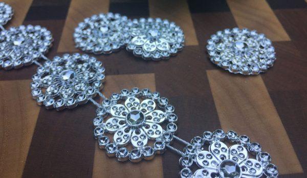 Silver Medallion Garland