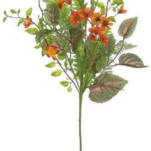 Orange Wildflower Spray