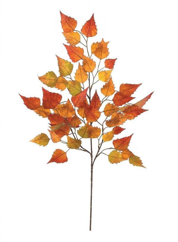 Birch Leaves Spray