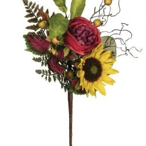 Sunflower-Ranunculus Mixed Floral Pick