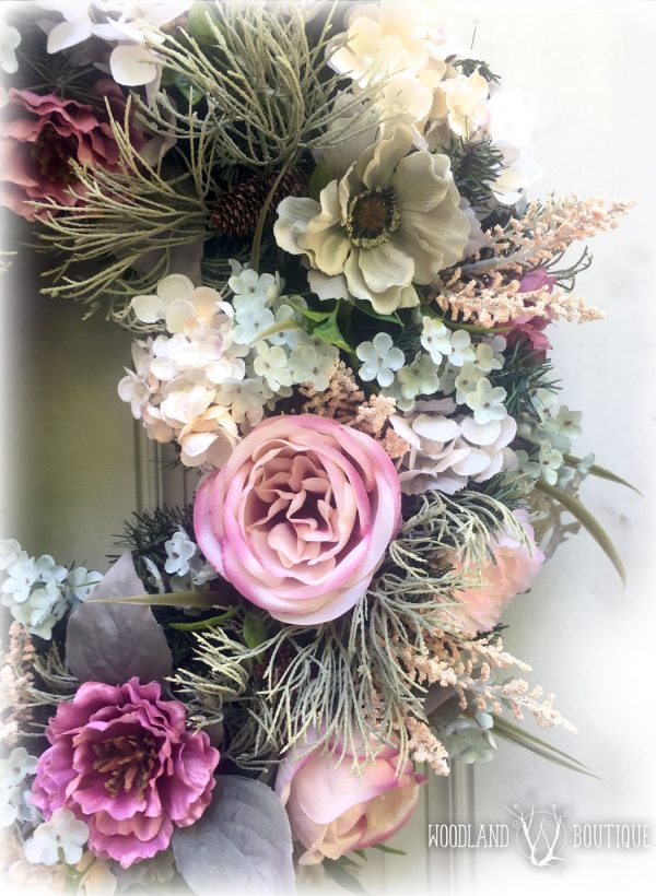 Muted florals with Juniper