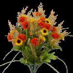 "Orange/Yellow Filler Flower Bush - 21""H"