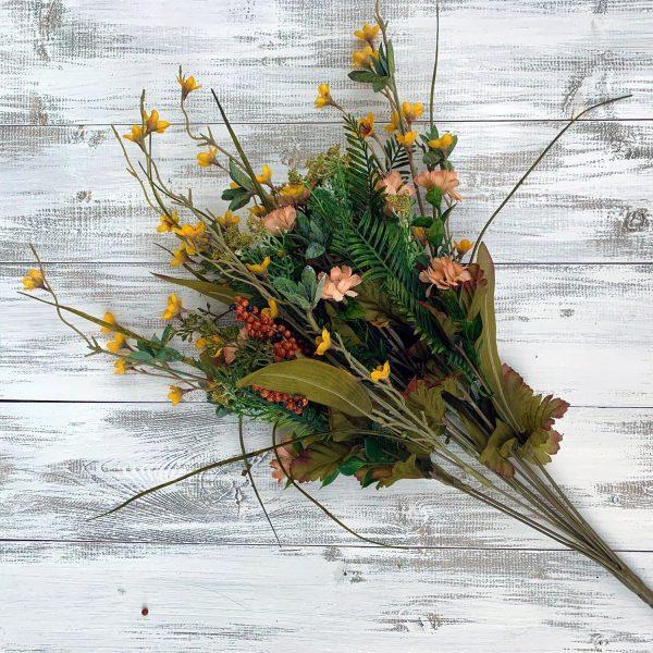 """Yellow/Beige Filler Berry Bush x 12 -21"""""""
