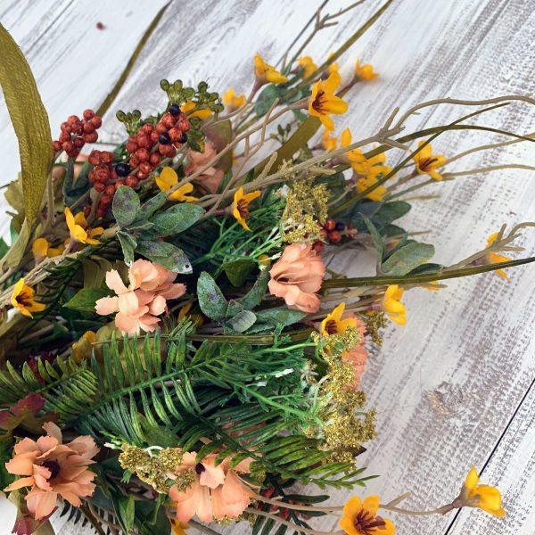 Yellow/Beige Filler Berry Bush x 12 closeup
