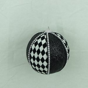 Harlequin Ornament Ball - 4""