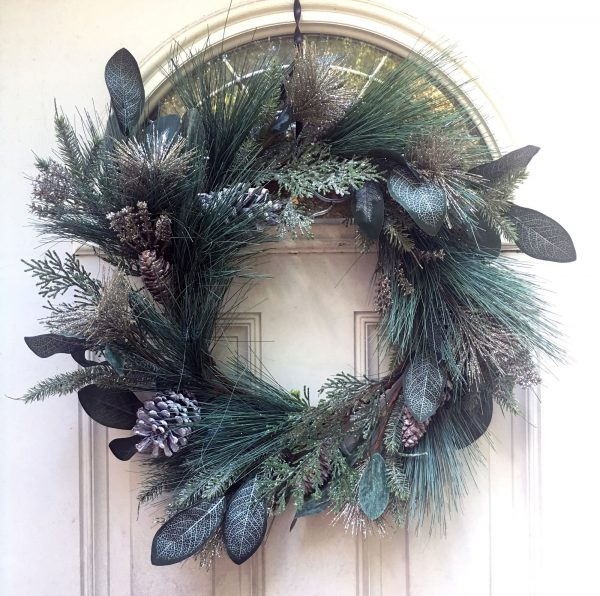 Champagne-Glitter-Wreath-Base