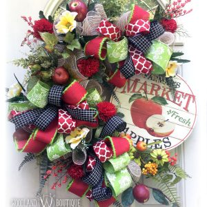 Charming Apple Wreath