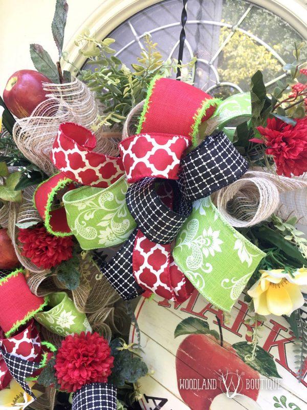 Charming Apple Wreath