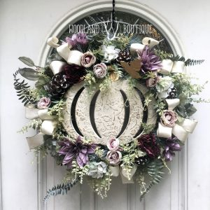 Enchanted Pumpkin Wreath