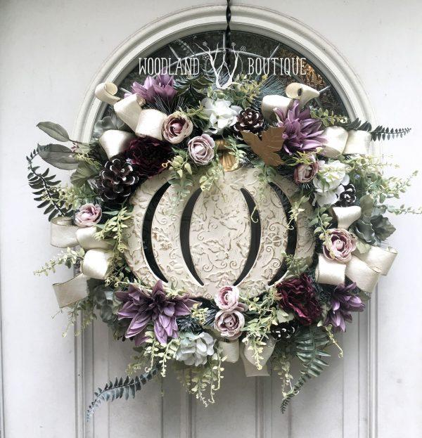 Enchanted Pumpkin Wreath