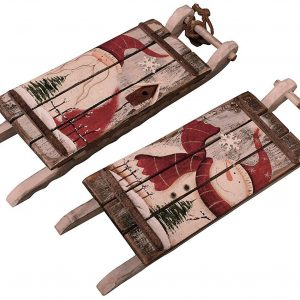 Rustic Wooden Sled