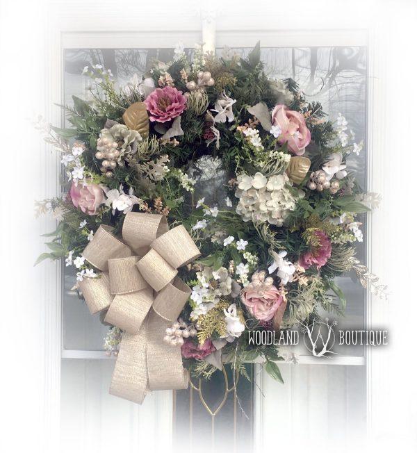 Victorian Floral Wreath