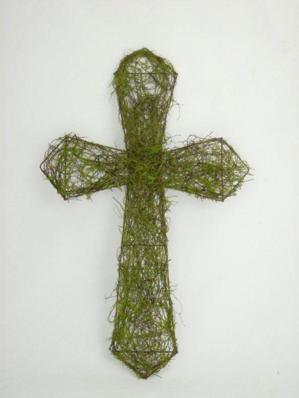 "Vine & Moss Cross - 22"""