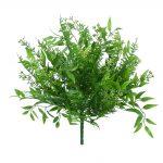 "Plastic Mix Greenery bush x9 - 15"""