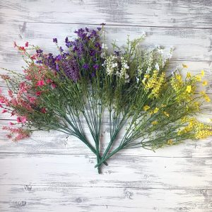 Baby's Breath Filler Bush (Choose Color) - 18""