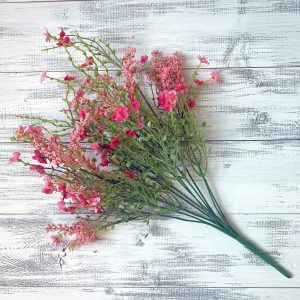 Baby's Breath Filler Bush (Pink) - 18""