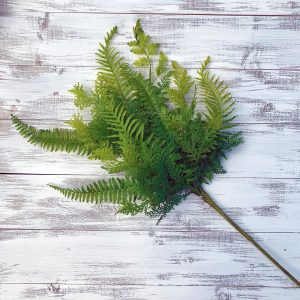 Plastic Fern Mix Bush
