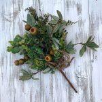 "Hawthorn Berry Greenery Bush - 17"""