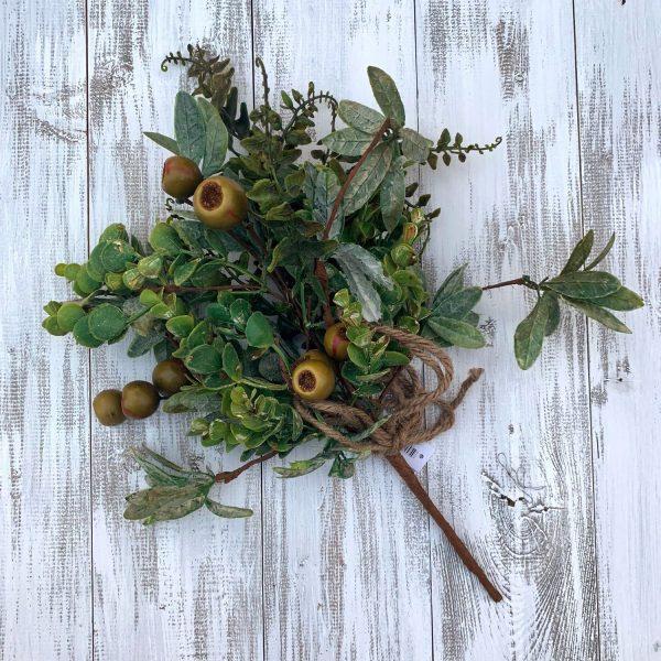 Hawthorn Berry Greenery Bush