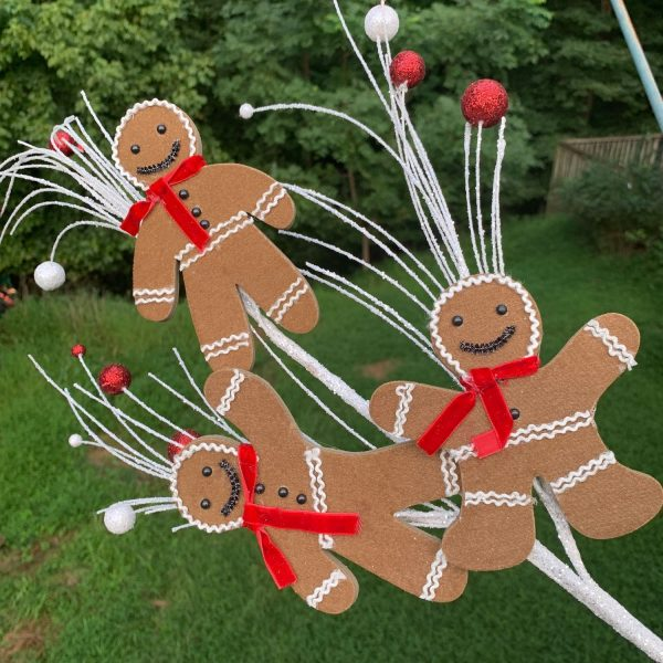 Gingerbread Man Cookie Spray - 31""