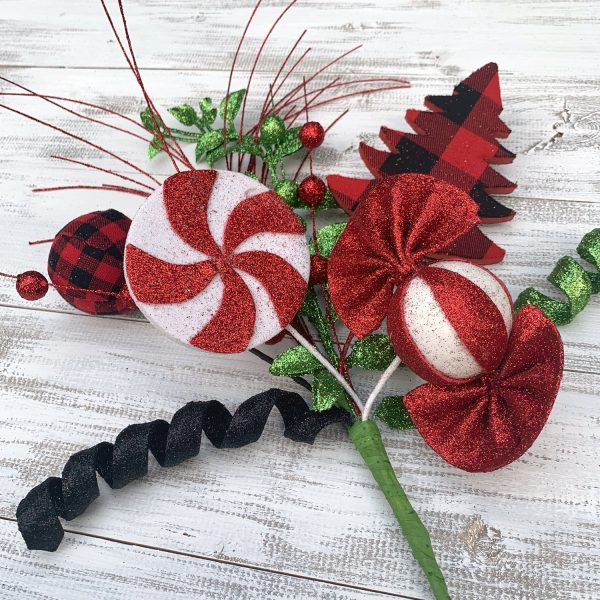 Buffalo Plaid Candy Spray
