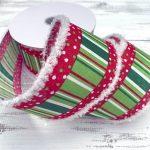 "Whimsical Christmas Ribbon - 2.5"" x 10 yards"