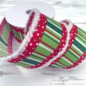 "Whimsical Christmas Ribbon - 2.5"" x 10 yards"