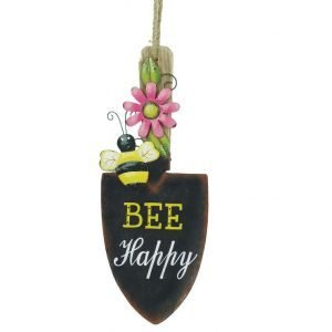 Bee Happy Shovel Sign