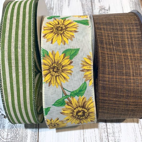 Sunflower Ribbon Grouping
