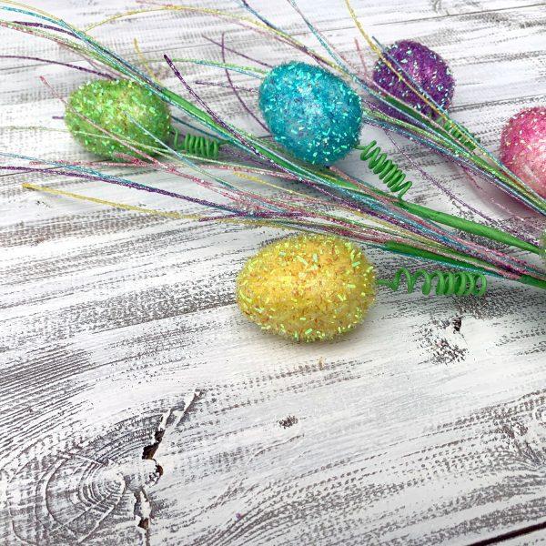 """Iridescent Easter Egg Spray - 28"""""""
