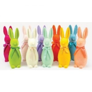 Flocked Bunnies
