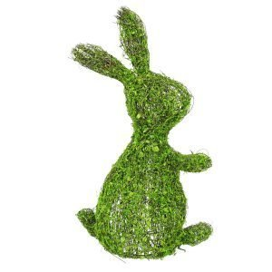 Vine & Moss Flat-Backed Bunny - 17""
