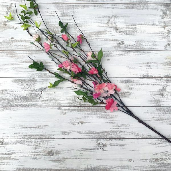 Blossom & Pussy Willow Branch Spray - 36""