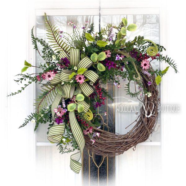 Wild Daisy Wreath