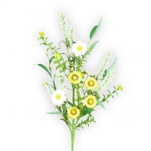 "Daisy Cattail Spray - 24"""