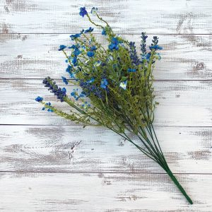Baby's Breath Filler Bush, Royal Blue - 18""