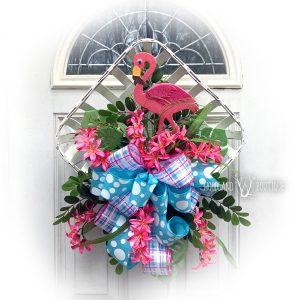 Flamingo Tobacco Basket