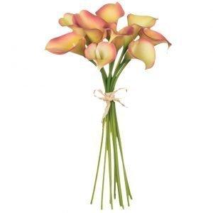 Coral Calla Lily Bouquet - 23