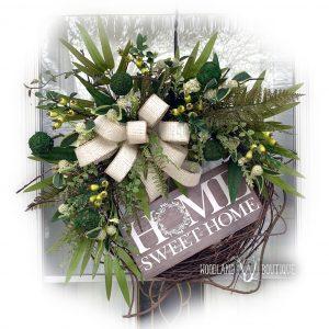 Everyday Ivory & Greenery Wreath