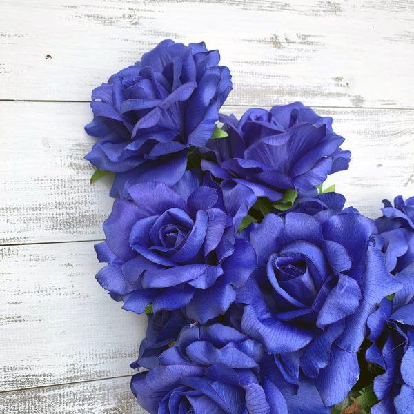 Rose Bush - Royal Blue x 12
