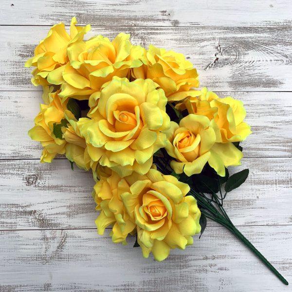 Rose Bush - Yellow x 12
