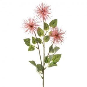 """Pink Allium Stem - 26"""""""